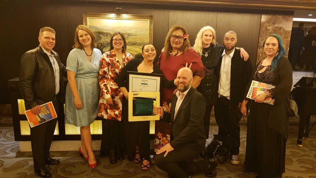 Upskills and Griffin's – winners of the workplace literacy and numeracy category at the Diversity Works Awards