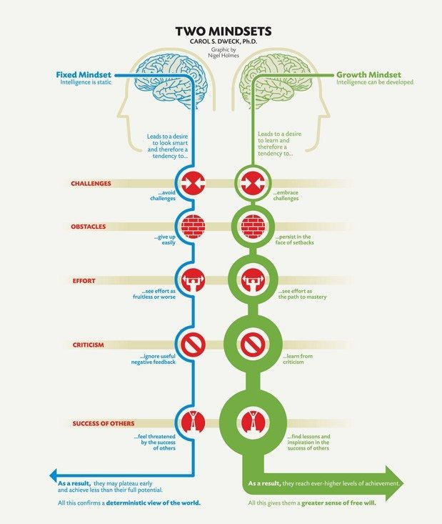 A growth mindset for learning success